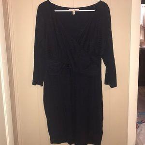 Jessica Simpson Size L Navy Maternity Dress